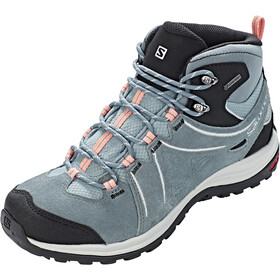 Salomon Ellipse 2 Mid LTR GTX Sko Damer, lead/stormy weather/coral almond